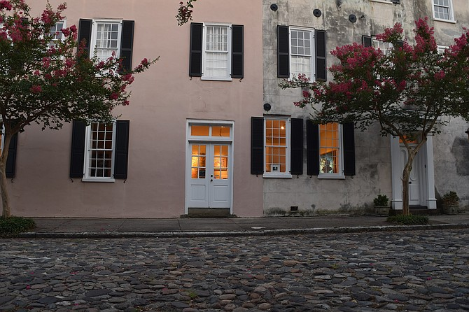 Dusk at Chalmers Street, Charleston S.C.