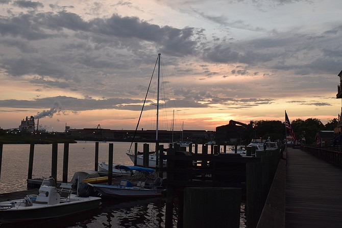Evening at Historic Georgetown S.C.
