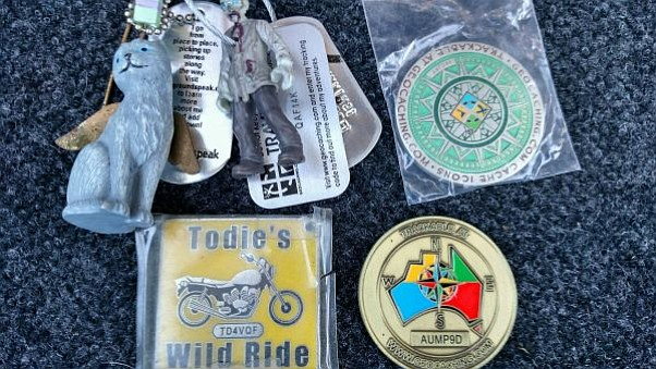 Multiple travel bugs commences in the City's geocaching contest.