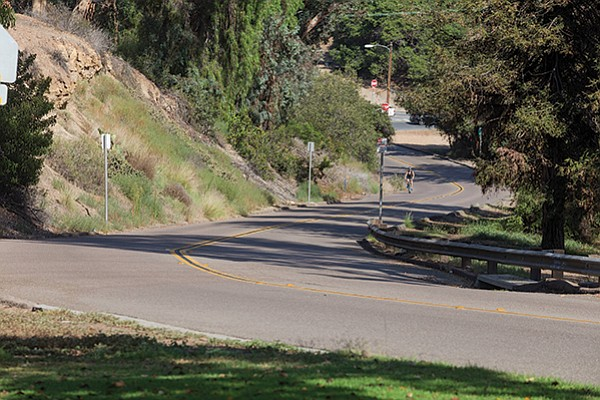 Morley Field Drive is a safer, more scenic alternative to University Avenue.