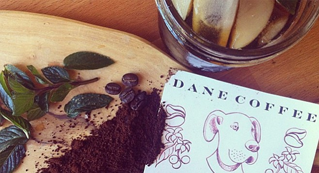 Dane Coffee — home-roasted in San Diego.