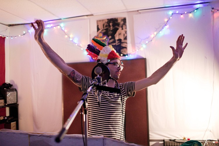 Lo-fi punk act Spider Bags play the all-ages stage at the Irenic on Thursday.