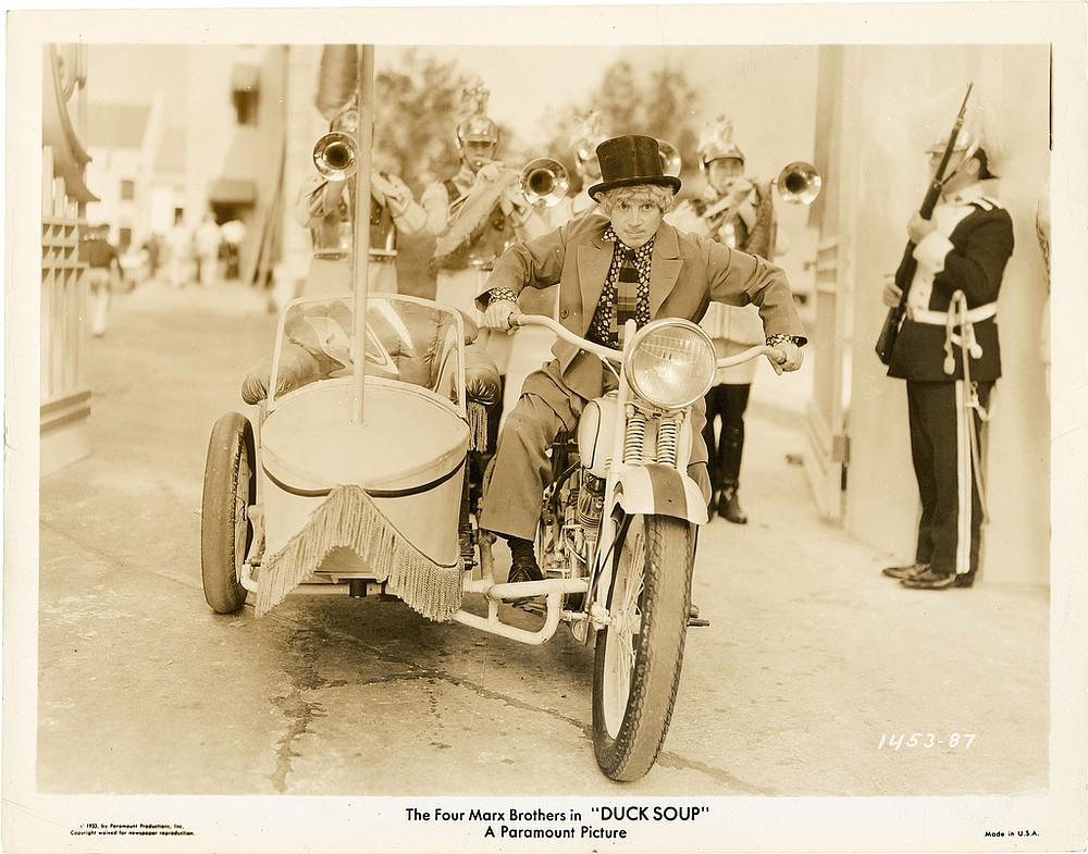 Uber-hack Harpo Marx at your service.