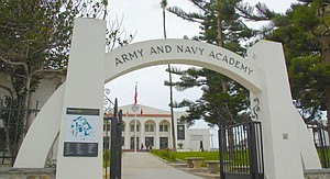 Boys' military academy in Carlsbad California.
