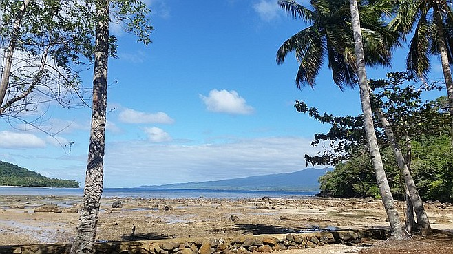 View from Qamea Resort and Spa.