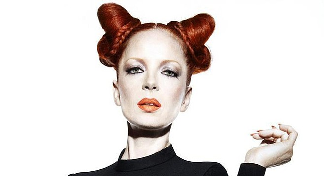 """Shirley Manson: """"I associate San Diego with the earliest shows of our career."""""""