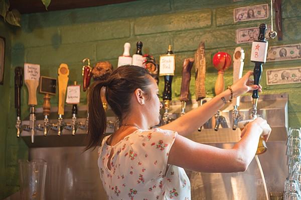 Star B Fresh Hop Pale on tap at Nickel Beer Company in Julian