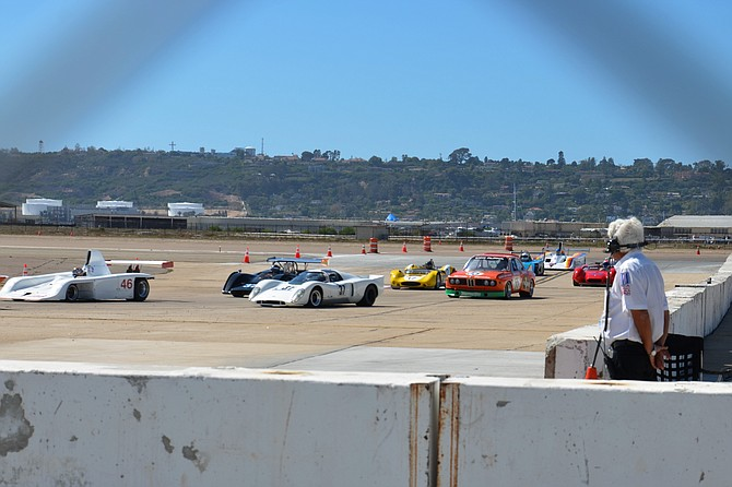 The Sunny Race at Naval Air Station North Island, San Diego Ca.