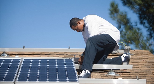 There are indications that SDG&E doesn't give a rat's behind about advancing solar-power use.