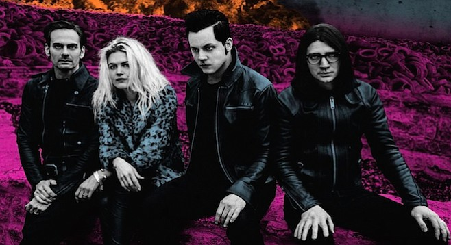 Is drummer Jack White's influence taking over guitar and vocals? Dodge and Burn feels like it...