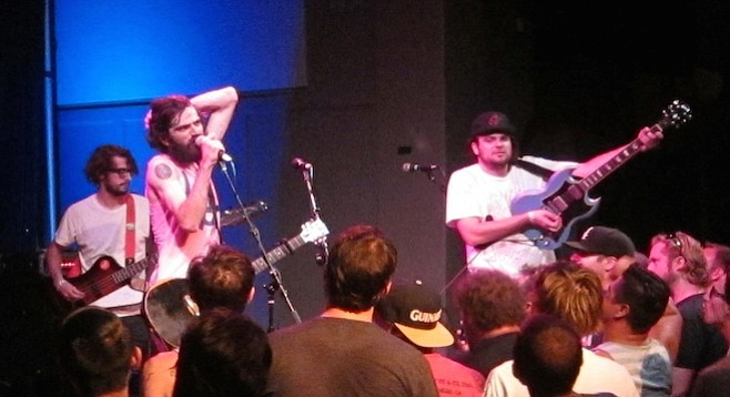 Patrick Stickles and Titus Andronicus rock a near-empty Irenic