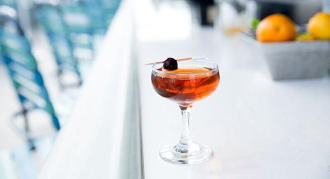 Cannonball's Rum Manhattan