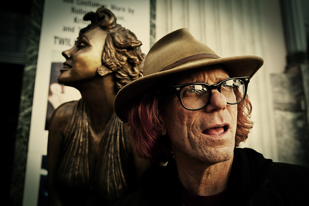 Bob Forrest brings Survival Songs to the Whistle Stop on Wednesday.