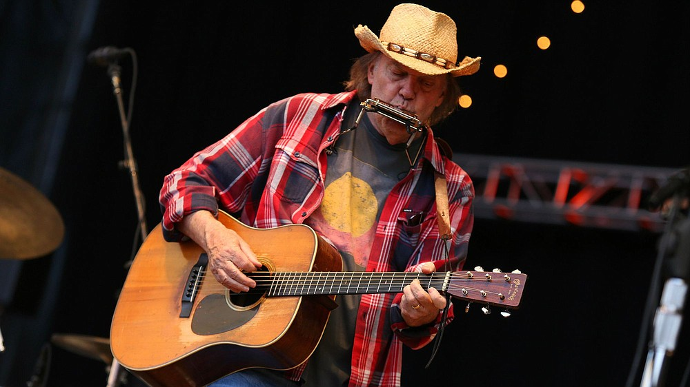 Grunge daddy Neil Young plays the RIMAC at UCSD on Tuesday.