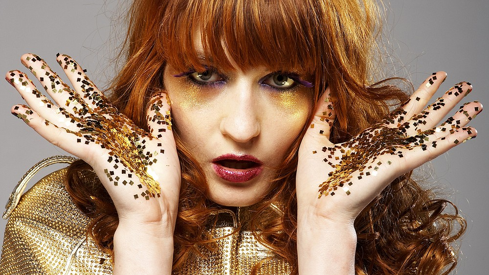 English indie-rock act Florence & the Machine plug in at Viejas Arena at SDSU on Wednesday.
