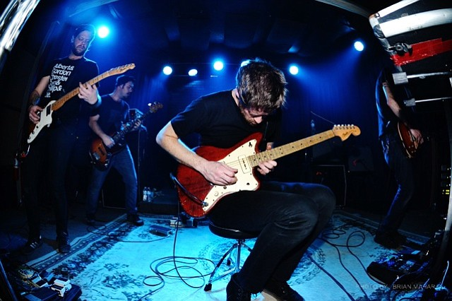 Post-rock revivalists Caspian hit the Hideout on Friday.