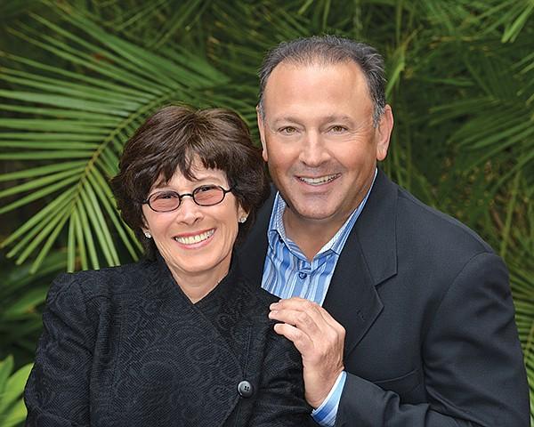 David Cohn (with Leslie Cohn), president of the Cohn Restaurant Group