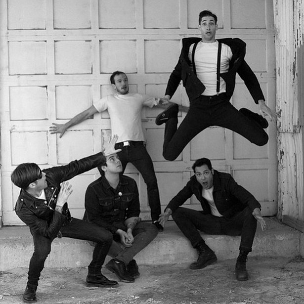 """The pride of Denton, TX, garage punks the Riverboat Gamblers throw """"Ice water"""" on the Hideout Thursday night."""