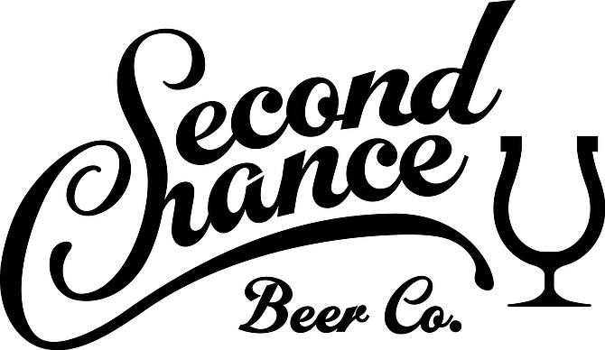 A lucky horseshoe/tulip glass logo embodies the make your own luck approach of Second Chance Beer Co.