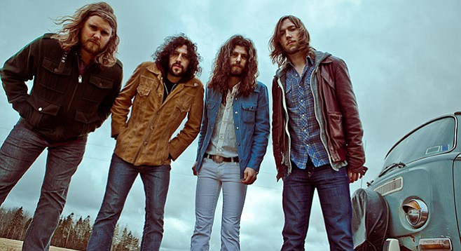 Juno-winning Canada band the Sheepdogs boogie into Casbah Thursday night!