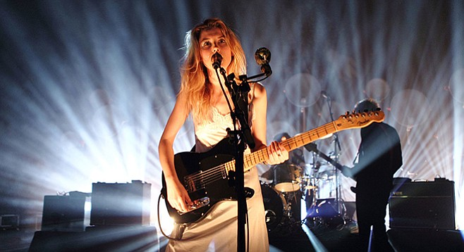 English alt-rockers Wolf Alice take the all-ages stage at the Irenic on Monday.