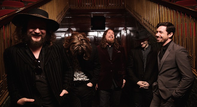 My Morning Jacket records their first West Coast record, tours through town this week...