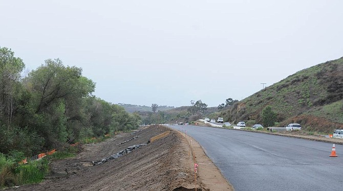 Just a little more paving, and 20,000 drivers will have an easier drive (in theory).