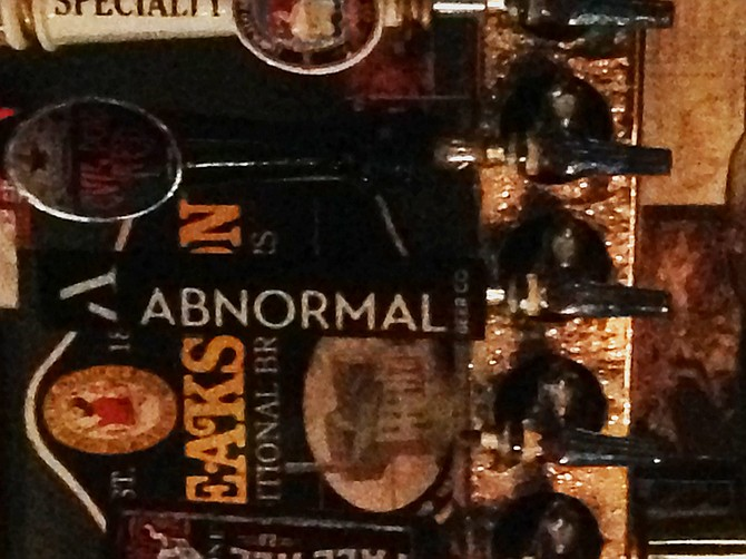 5pm Session Ale by Abnormal Beer Co., on tap at Hamilton's Tavern.