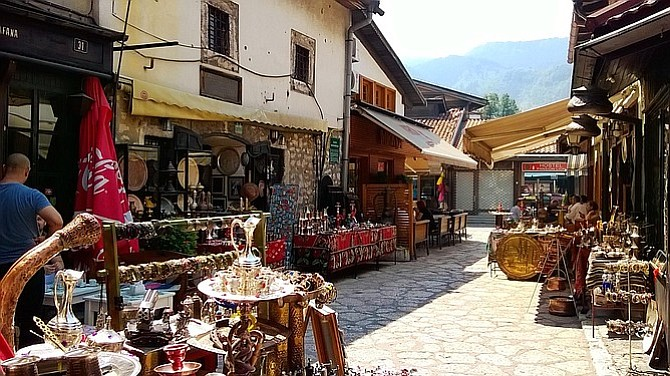 Old Town, Sarajevo.