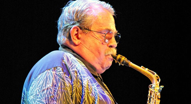 One less giant walks the Earth: bebop sax player Phil Woods passes.