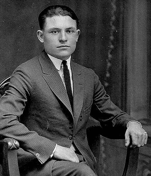 Young Frank Bompensiero