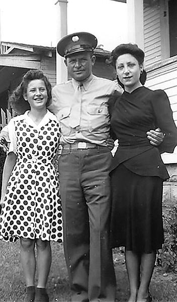 Mary Ann, Frank, and Thelma Bompensiero