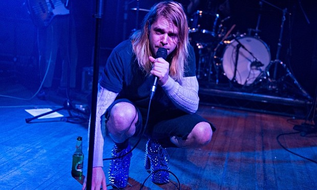 Sleaze-pop singer Ariel Pink splits a bill with the Black Lips at Observatory North Park Thursday night.