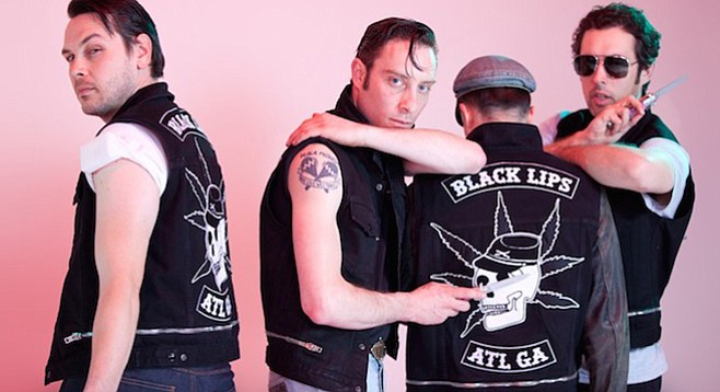 Flower-punk Atlanta band the Black Lips take the stage at the Observatory on Sunday!