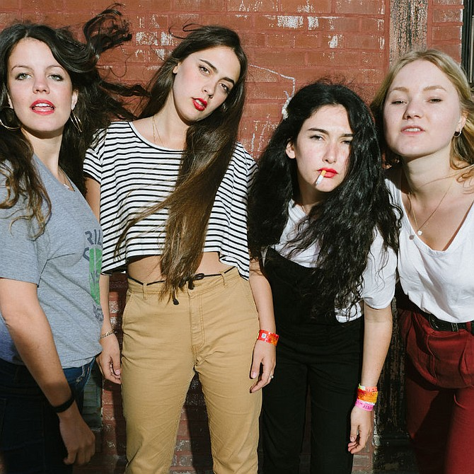 The Irenic has lo-fi lovelies Hinds on Saturday night!
