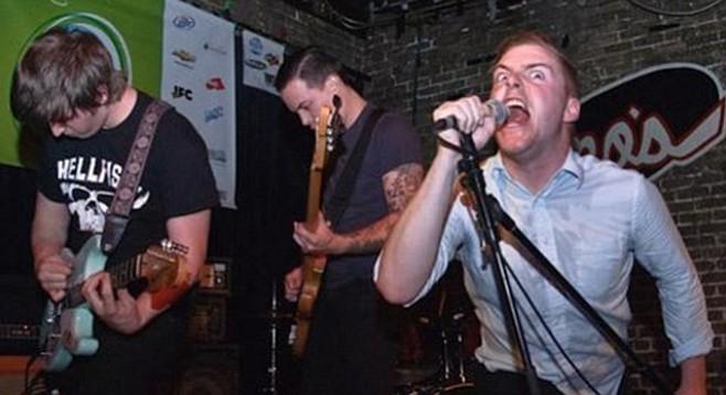 San Fran black-metal band Deafheaven shred New Bermuda at Casbah Thursday night!