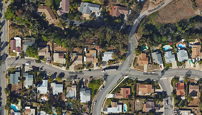 """""""The geometry of the intersection is kind of skewed,"""" said a city engineer."""