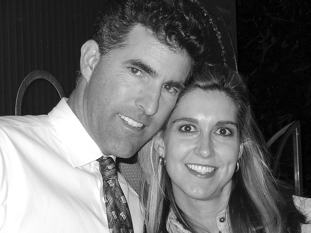 """Lance and Carolyn Thayer. """"We met on a blind date through the Reader personals."""""""
