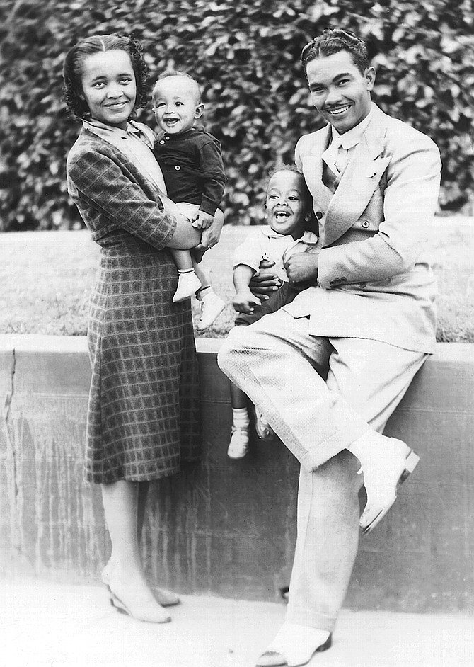 Peggy and York Mitchell, with sons York Jr. and Duke, c. 1940. My father had the meaty good looks that are no longer in fashion, the kind that helped make young Ernest Hemingway famous and Clark Gable a matinee idol.