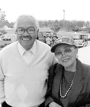 York Sr. and Peggy, 1998. A marriage that lasts more than 30 years and sends into the world a number of children cannot be said to be a failure.