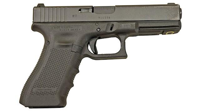 .40 caliber pistol
