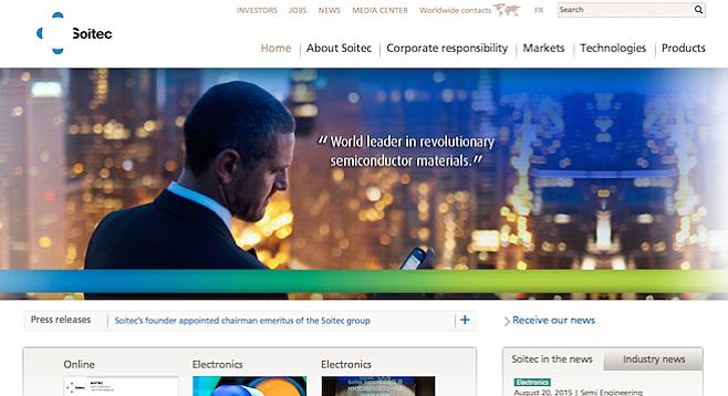 Slick site, controversial company