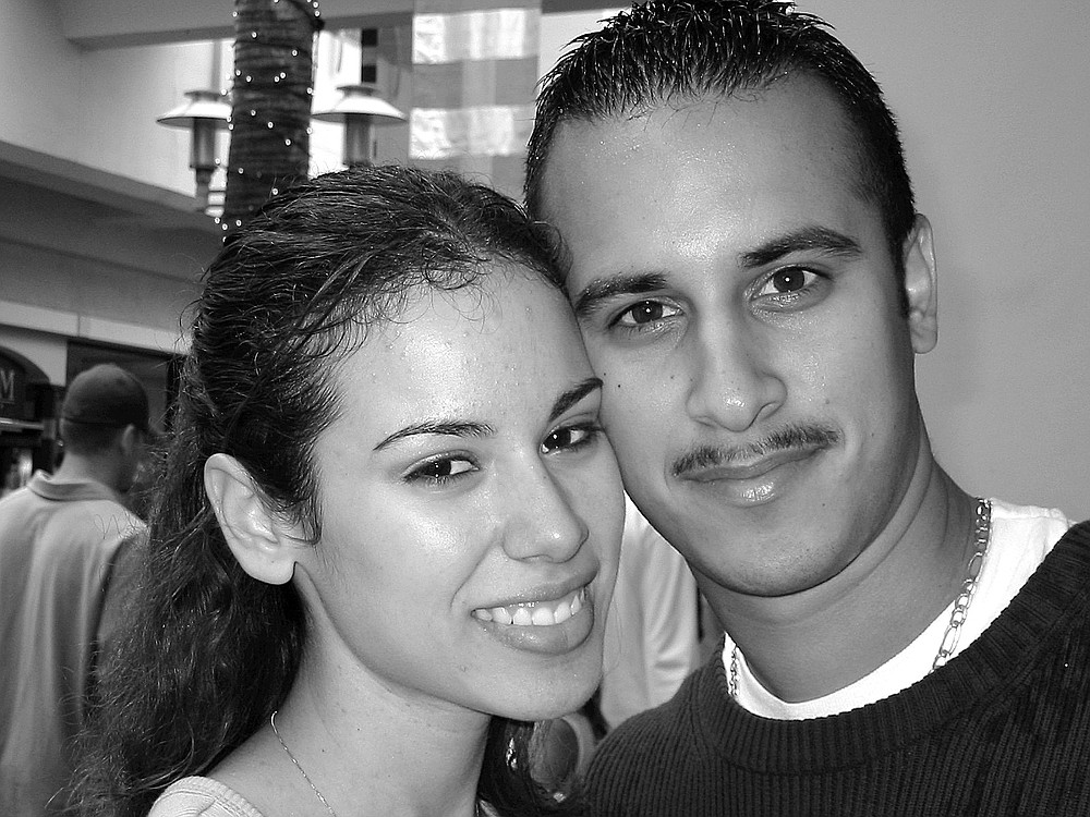 """The Veras. """"We were voted the cutest couple at Chula Vista High for the class of 2001."""""""