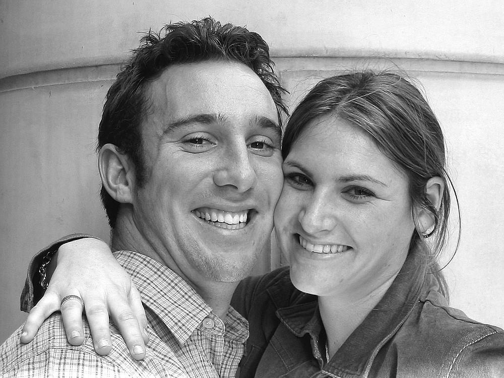 Schuyler Hoffman and Lauren Gans. They originally met in the seventh grade at Francis Parker School.