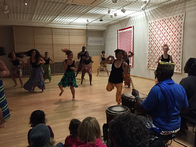 A West African style dance