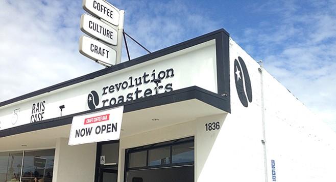 Locally roasted coffee helps Oceanside bloom.