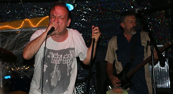 SanFran sludge-punk band Flipper takes the Casbah stage Thursday night!