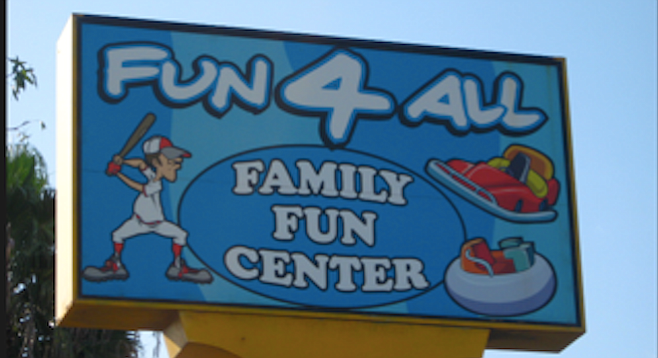 With the amusement center closing down, desirable industrial-area property is up for grabs
