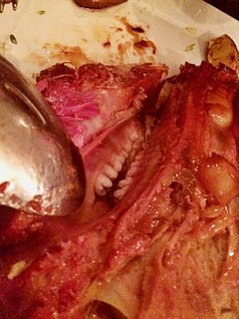Whole hog – and the teeth – at St. John's Chinched Bistro.