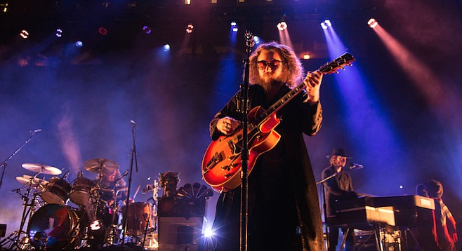 My Morning Jacket's big sound filled the Open Air and bounced around the nearby dorms.